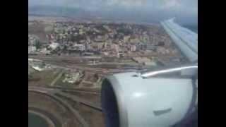 preview picture of video 'Airbus 320-200 Alitalia atterraggio a Cagliari Elmas - Landung - Landing'