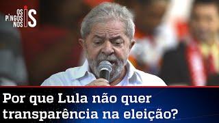 Lula junta-se a STF e Pacheco na luta contra o voto auditável