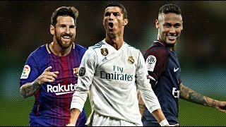 Cristiano Ronaldo vs Lionel Messi vs Neymar Jr ● Crazy Skills & Goals 2017/18