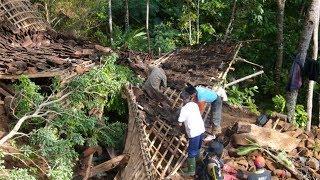 Hujan Lebat dan Angin Kencang Robohkan Rumah Warga di Gunungkidul