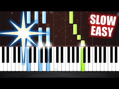 Silent Night - SLOW EASY Piano Tutorial by PlutaX