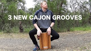 Three New Cajon Beats To Learn