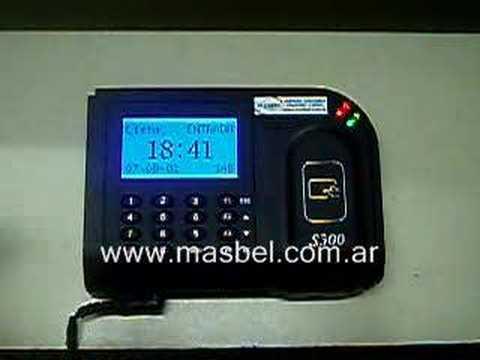 Reloj de Control de Personal con Tecnologia de Proximidad