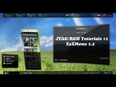INSTALL XEXMENU 1 2 ON EXTERNAL HDD/USB FOR JTAGS - смотреть онлайн