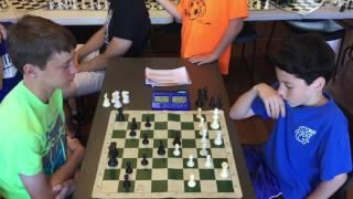 Blindfold Blitz Chess: Benjamin Levy (1360) vs. IM Bartholomew [Game 2]
