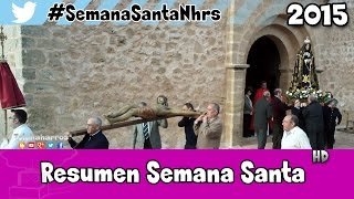 preview picture of video 'Resumen Semana Santa Naharros (Cuenca) 2015'