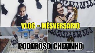 VLOG- 3° MÊSVERSARIO DO PODEROSO CHEFINHO!