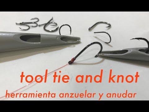 Herramienta anzuelar y anudar - Tool tie and knot 🧢