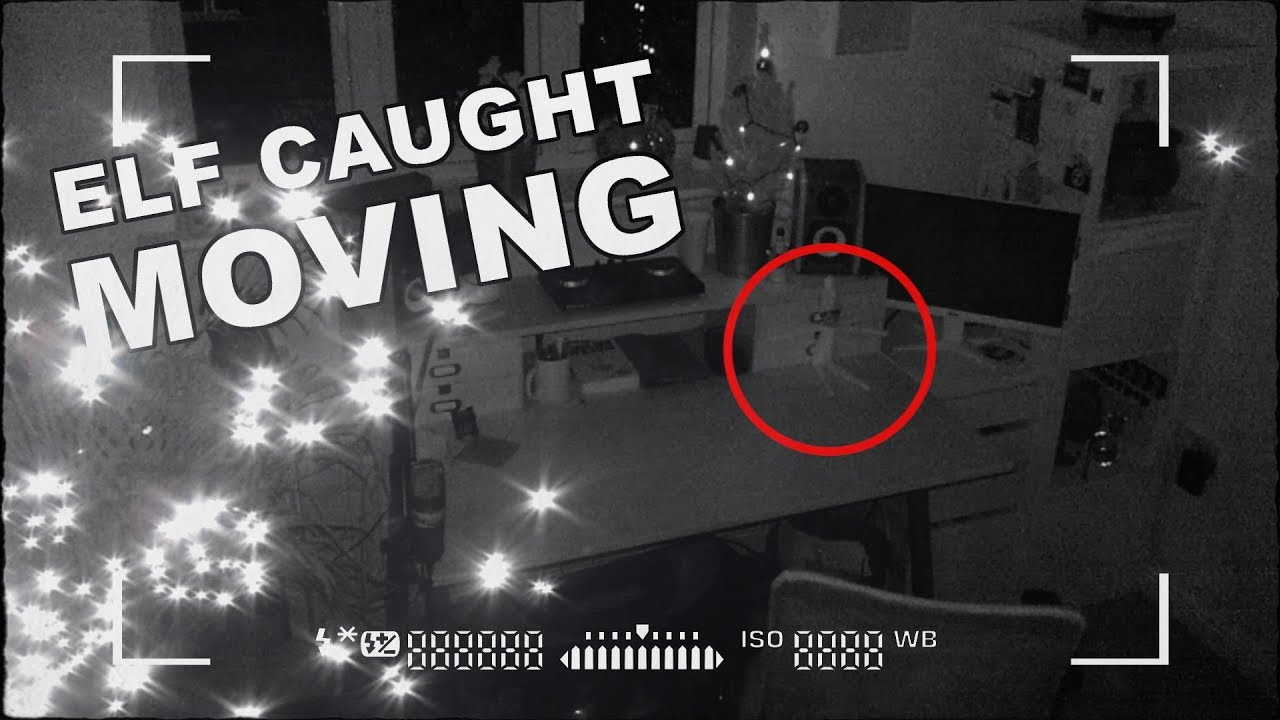 Elf On The Shelf Caught Moving On CCTV