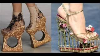 Самые странные и необычные туфли