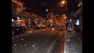 uşak ulubey kar manzarası