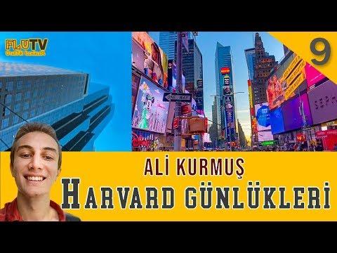 Ali Broadway Yıldızlarıyla! - Ali Kurmuş - Harvard Günlükleri B09