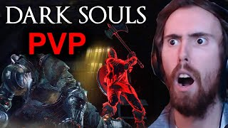 Asmongold Gets HACKED Trying Dark Souls 3 PVP
