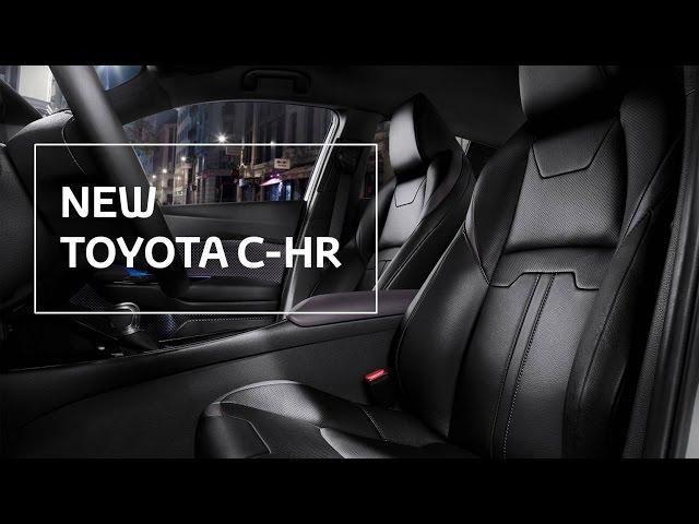 New Toyota C-HR - Leather Seats