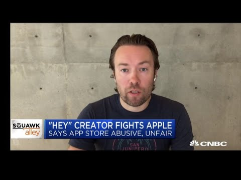 Download 'Hey' creator on fighting Apple's App Store policies Mp4 HD Video and MP3