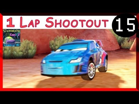 Raoul CaRoule Cars 2 Game One Lap Shootout Race Hard Difficulty Timberline Sprint Part 15