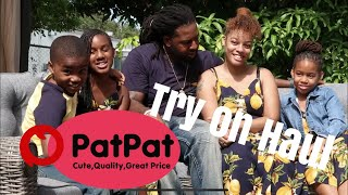 PATPAT TRY ON HAUL|FAMILY SUMMER MATCHING OUTFITS 2020