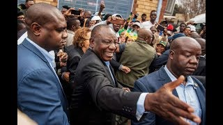 South Africa's ANC takes early lead in elections - VIDEO