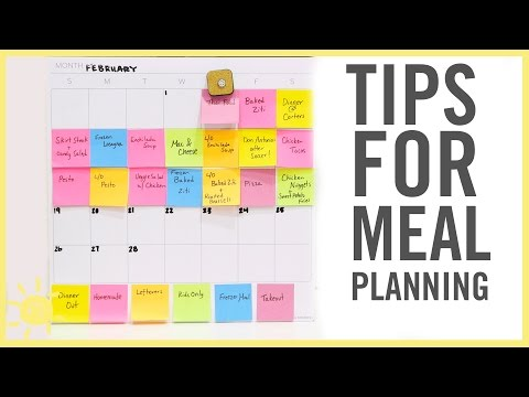 TIPS | Meal Planning