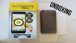 Cloudfone Thrill Lite Unboxing // P2499 ($50) Budget Smartphone