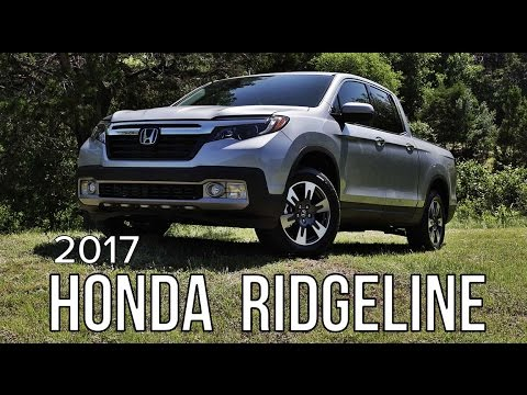 2017 Honda Ridgeline Review - First Drive