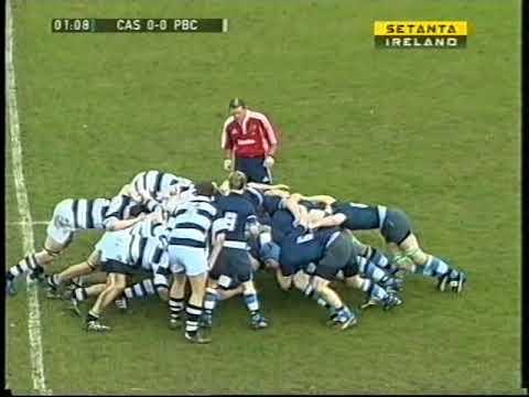 Castletroy College Vs Pres Senior Cup Semi Final 2008 part 1