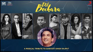 Dil Bechara - A musical tribute to Sushant Singh Rajput  IMAGES, GIF, ANIMATED GIF, WALLPAPER, STICKER FOR WHATSAPP & FACEBOOK
