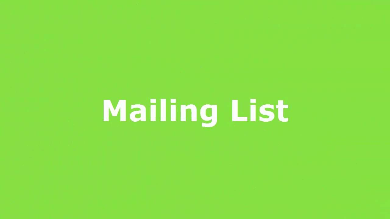 Play SOLE Mailing List
