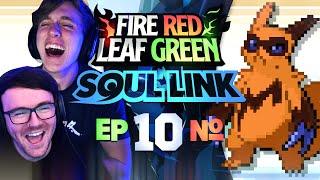 TEAM OF SIX?! • Pokemon Fire Red & Leaf Green Randomizer Soul Link • 10