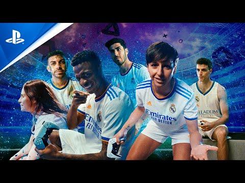 El Real Madrid se sumerge en el universo DualSense en el último spot de PlayStation