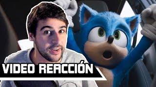 VIDEOREACCIÓN: Sonic: La Película - (Tráiler Oficial 2)