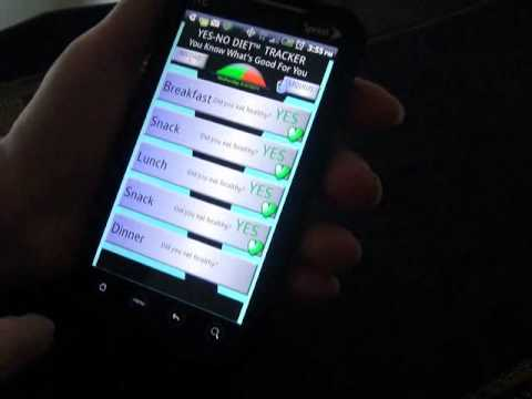 Video of Yes No Diet Tracker II