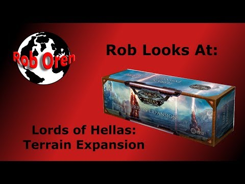 Rob Looks At: Lords of Hellas Terrain Expansion