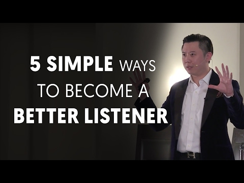 5 Simple Ways To Become A Better Listener (Communication Skill Part 7)