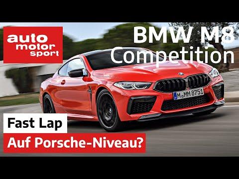 BMW M8 Competition: So schnell wie ein Porsche 911 GT3? - Fast Lap |auto motor und sport