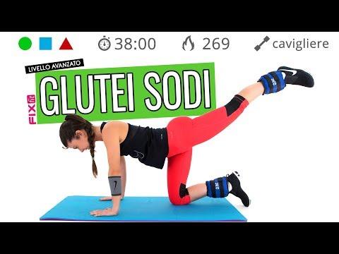 Glutei Sodi e Gambe Snelle! Esercizi Gambe E Glutei Con Cavigliere (opzionali) - Senza Salti