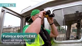 Opération Dégraffitage à Bord De L'Anita CONTI - 5 Juillet 2018 -