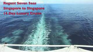 Regent Seven Seas Voyager Cruise ship Deck Walk