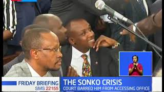 The Sonko Crisis: Sakaja request for a special sitting to discuss way forward for Nairobi