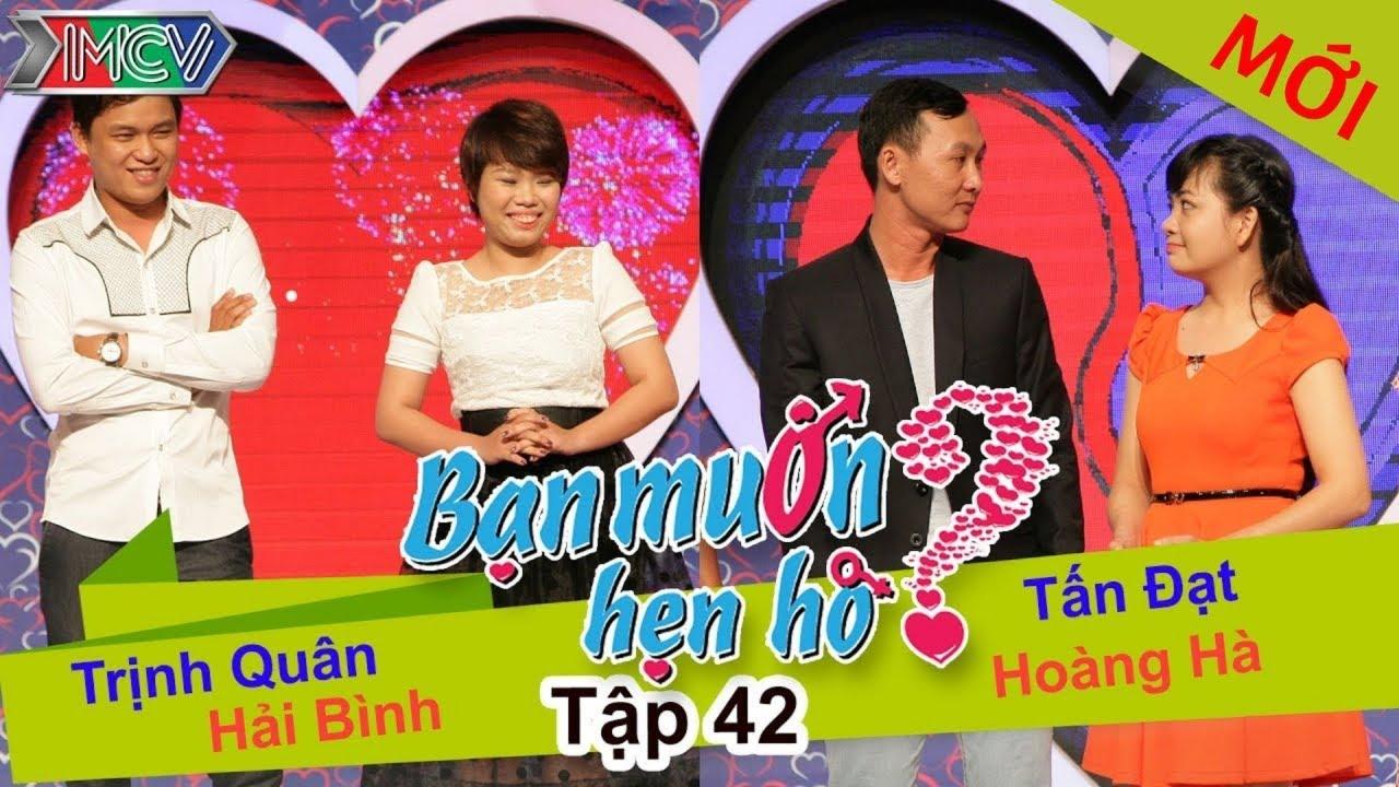 BẠN MUỐN HẸN HÒ #42 UNCUT | Trịnh Quân - Hải Bình | Tấn Đạt - Hoàng Hà | 240814 💖