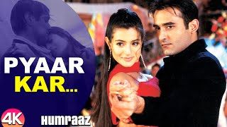 Pyaar Kar Ikrar Kar - 4K Video | Bobby Deol, Amisha Patel & Akshaye Khanna | Humraaz | Hindi Songs