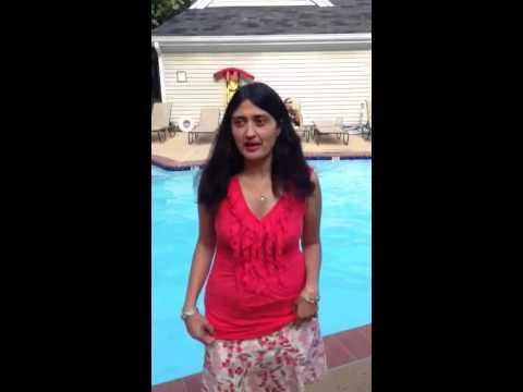 Ice Bucket Challenge-Gauri