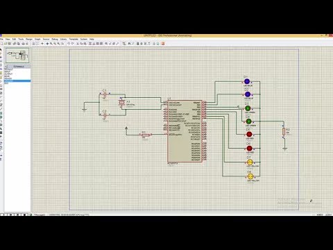 MPLABX Tutorial - PIC16F684 LED Blink and Proteus Simulation