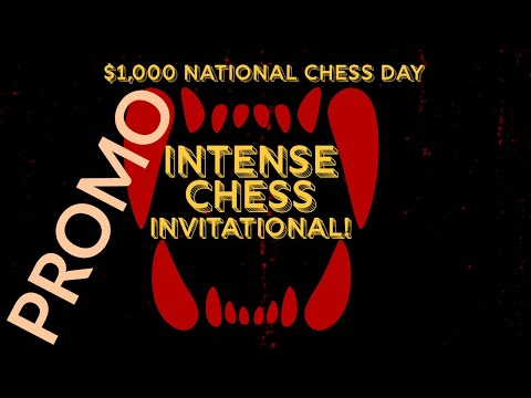 Watch Intense Chess: The $1,000 Knockout Invitational   Preview