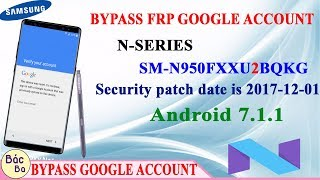 New Update Solution 2018 Bypass FRP Google Account Samsung