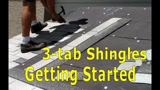 Roofing - How to Install Asphalt Shingles - Getting Started Walkthrough