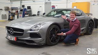 Driving My Mercedes SLS Black Series for the FIRST TIME!!