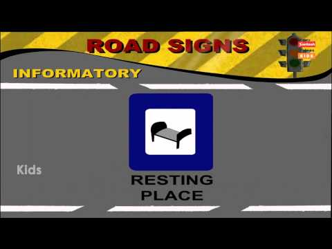 ROAD SIGNS | Important Traffic Cautionary Signs Part 1  | Traffic Rules in English