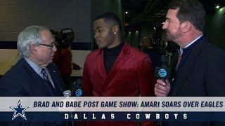 Brad and Babe Post Game Show: Amari Soars Over Eagles   Dallas Cowboys 2018