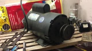 Lesson Electric Compressor Motor 3 HP 3450 RPM